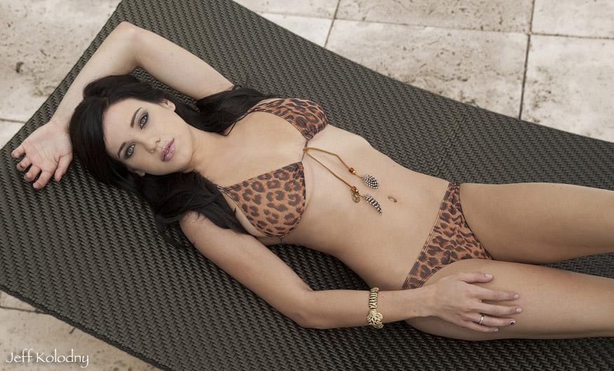 South Florida Swimwear model photograph.