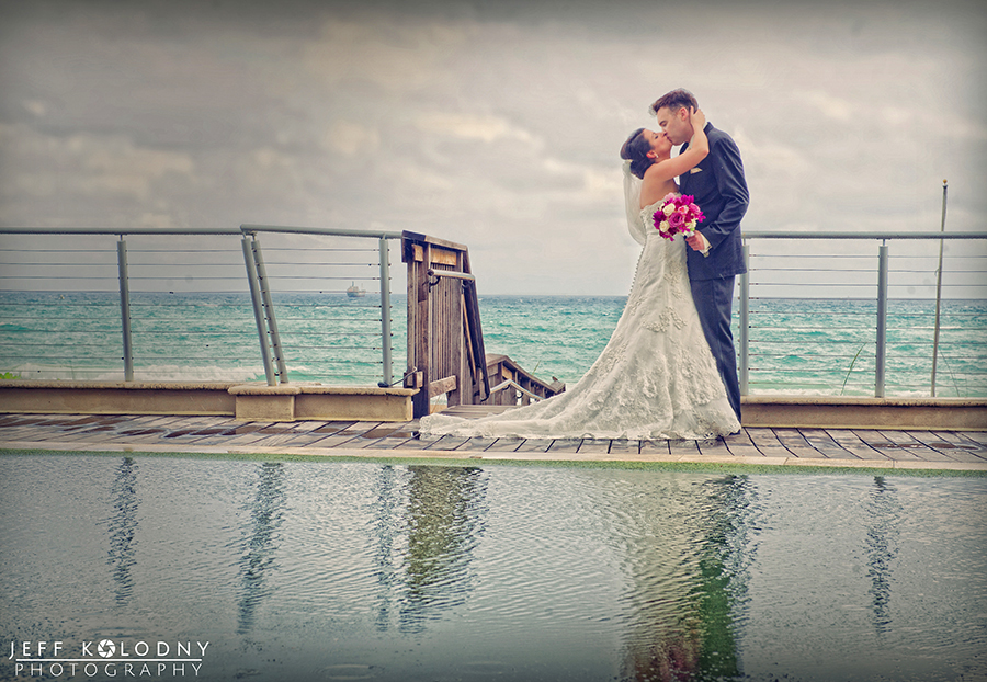 Wedding Photo taken at the Harbor Beach Marriott, Fort Lauderdale FL.