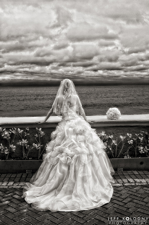 I shot this infrared wedding photo at The Breakers, Palm Beach.