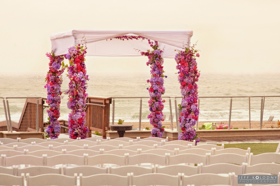 Want to get married by the beach. This photo was taken on the hotels Ocean Terrace.