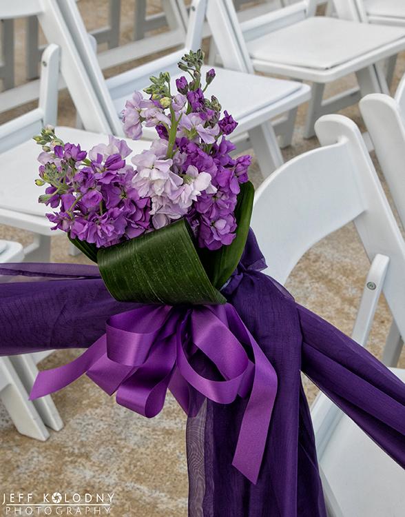 Wedding decor at a Boca Raton Wedding