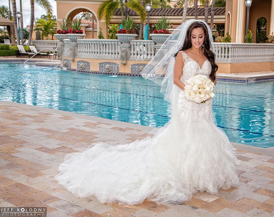 Bride photo taken at The Country Club at Mirasol