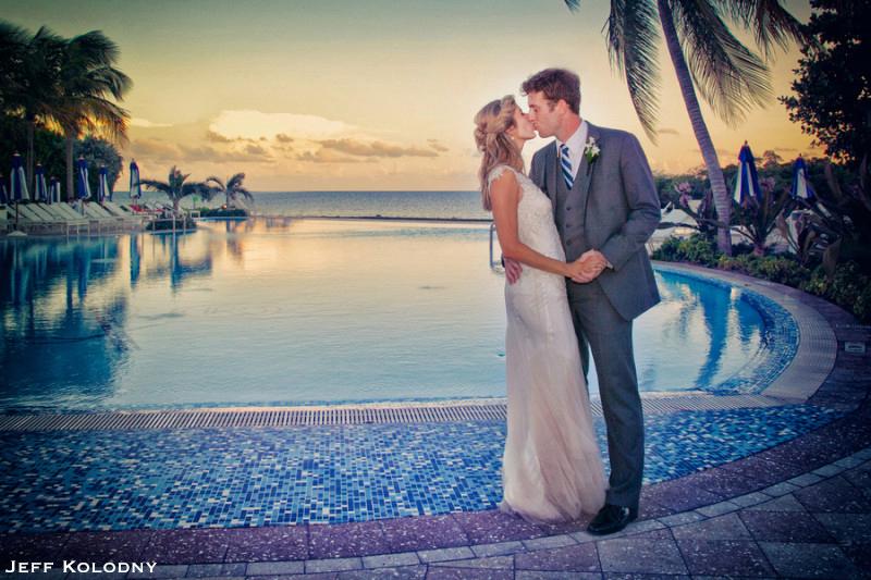 Ocean Reef Club Wedding Picture.
