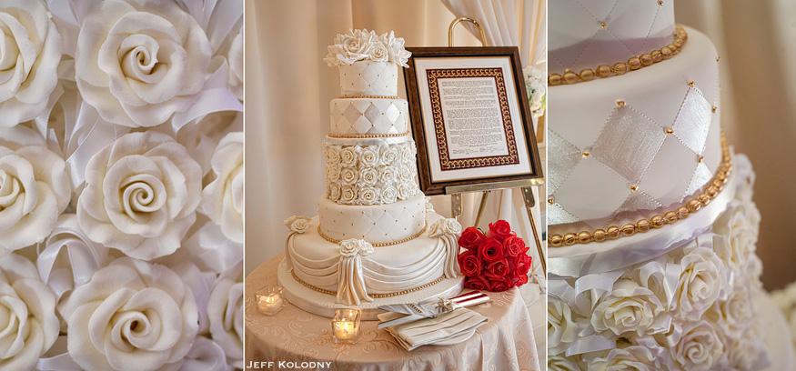Beautiful Wedding Cake photo taken in South Florida.