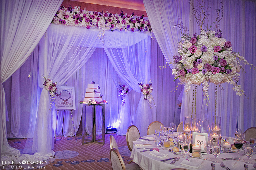 Working as a Fort Lauderdale wedding photographer I always love it when I get to take pictures in such a great looking ballroom.