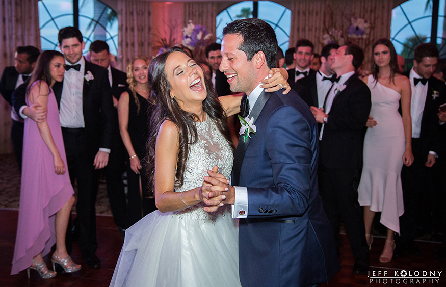 Boca Raton Wedding Picture taken at the bride and grooms First Dance.