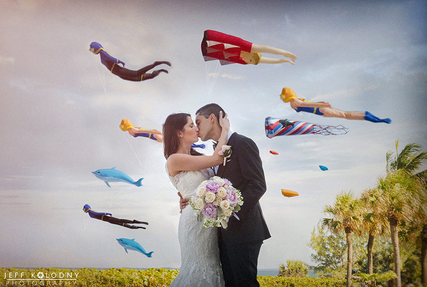Creative Kites at Harbor Beach Marriott gives the venue some extra pizzazz.