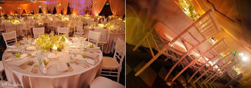Ballroom decor photo taken at The Ritz Carlton in Miami.