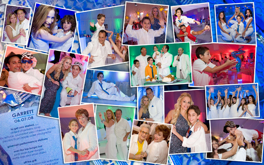 Pictures from a South Florida Bar Mitzvah party