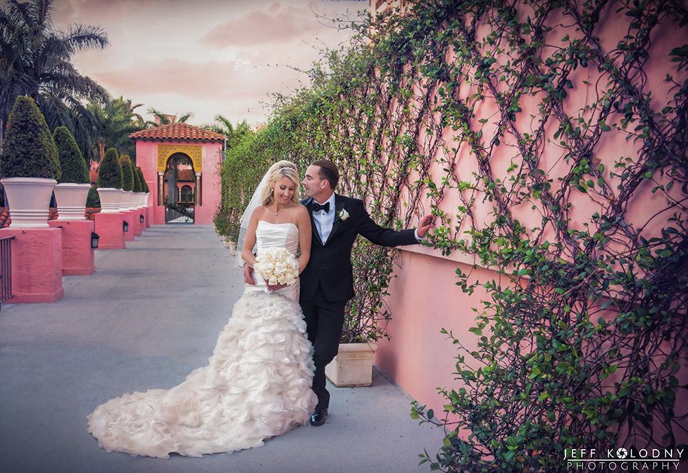 Boca Raton Resort and Club elopement photo