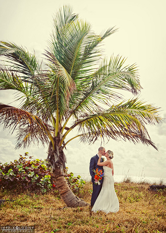 Fort Lauderdale scenic elopement picture