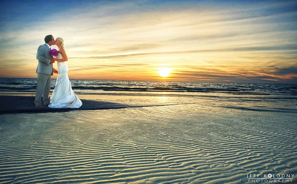 Marco Island Elopement Beach Picture
