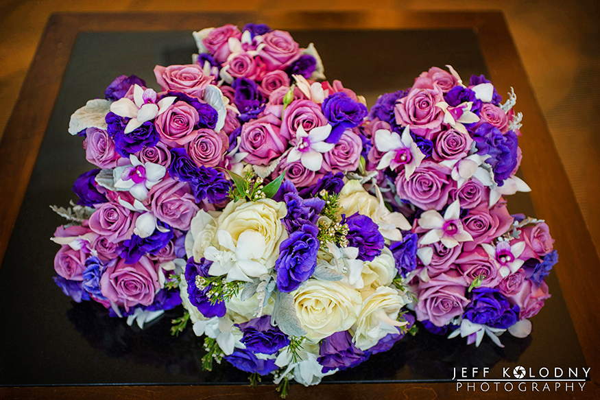 beautiful flowers taken at a Diplomat Hotel wedding.