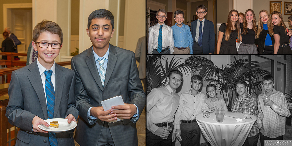 Bar Mitzvah Picture taken at Woodfield Country Club.