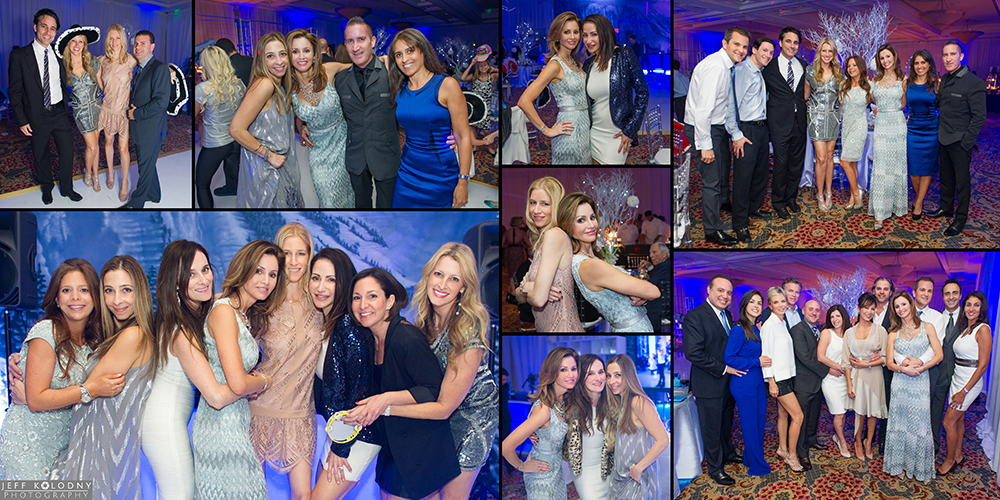 Friends and family pictures taken at a Woodfield Country Club Bar Mitzvah