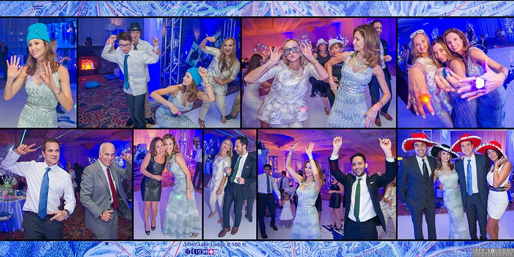 Wild Bar Mitzvah party pictures taken at Woodfield Country Club.