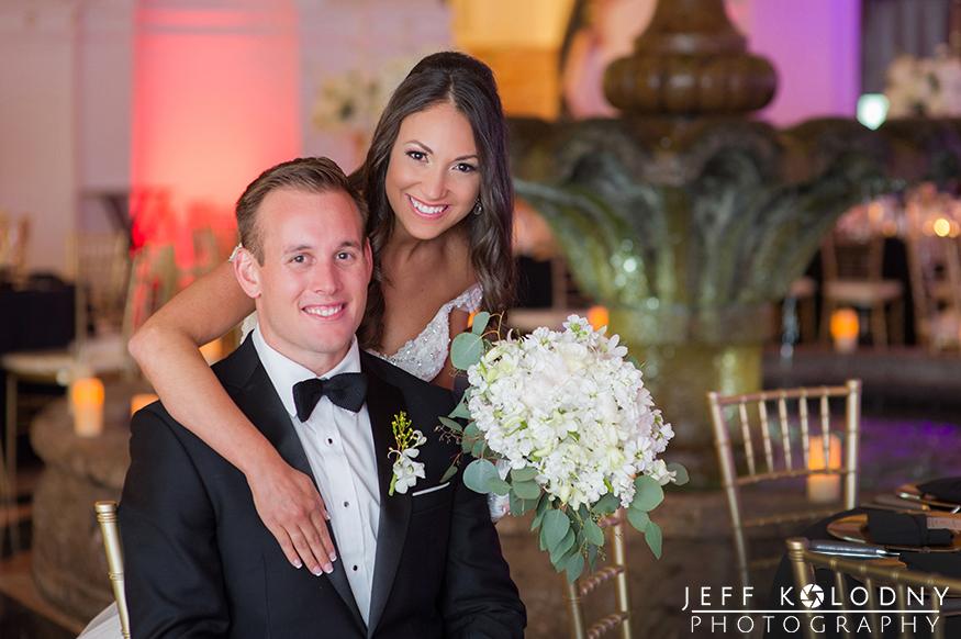 Bridal portrait taken at a Miami Wedding