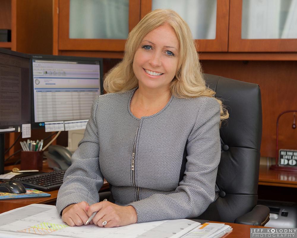 This executive office portrait was taken in Boca Raton, Florida.