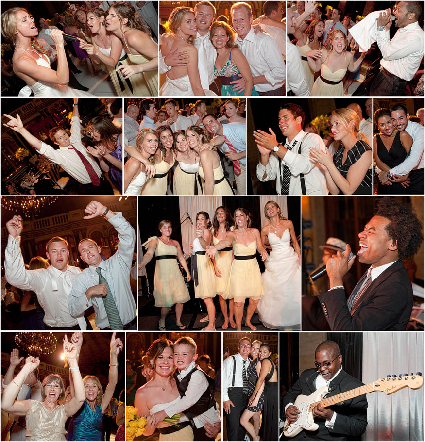 A raging party at a The Breakers wedding reception in Palm Beach