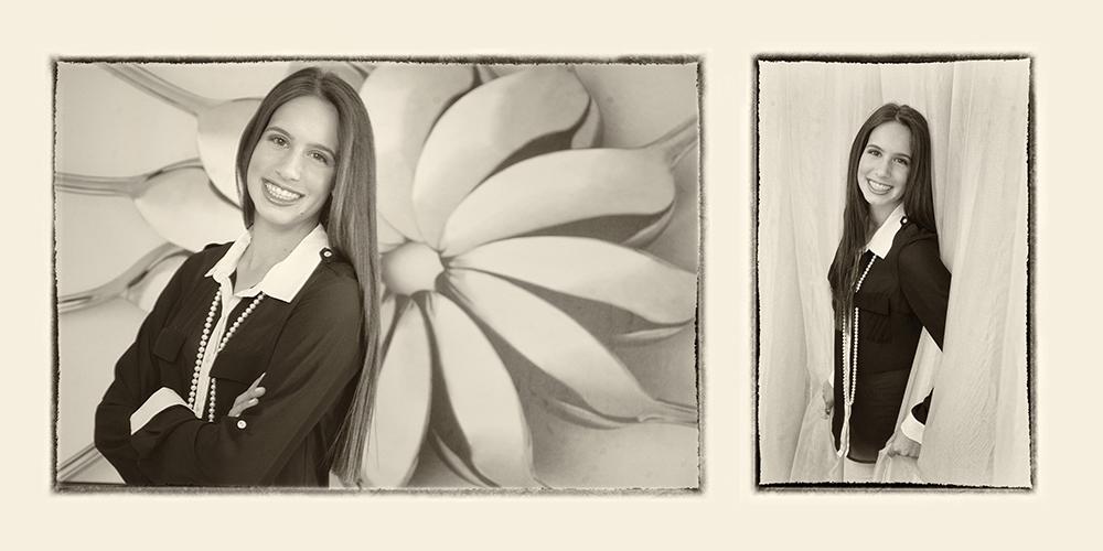 Samantha's pre bat mitzvah pictures taken in Boca Raton, Florida.