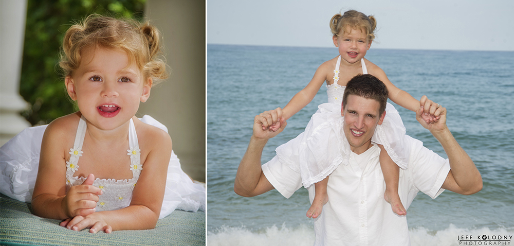 Portrait photography at a Boca Raton Beach.