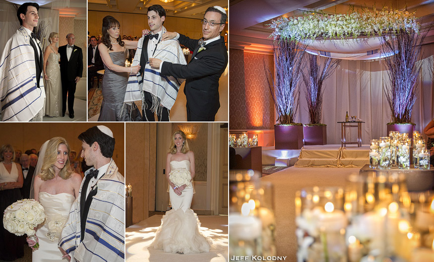 Jewish wedding ceremony in Palm Beach