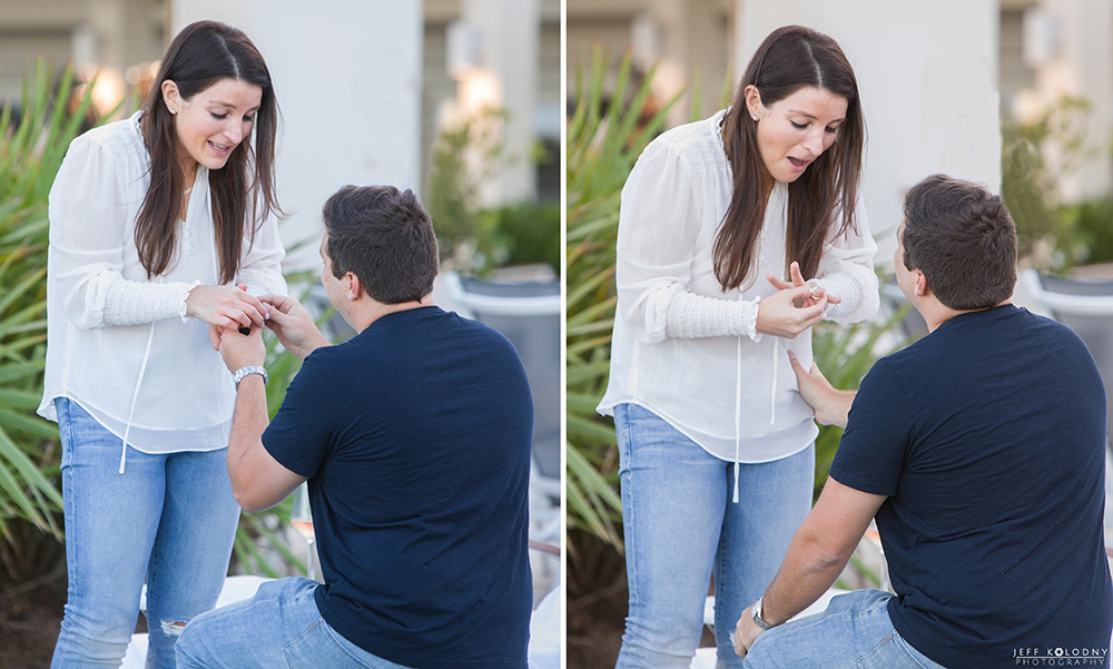 During this South Florida marriage proposal we really focused on her expression.