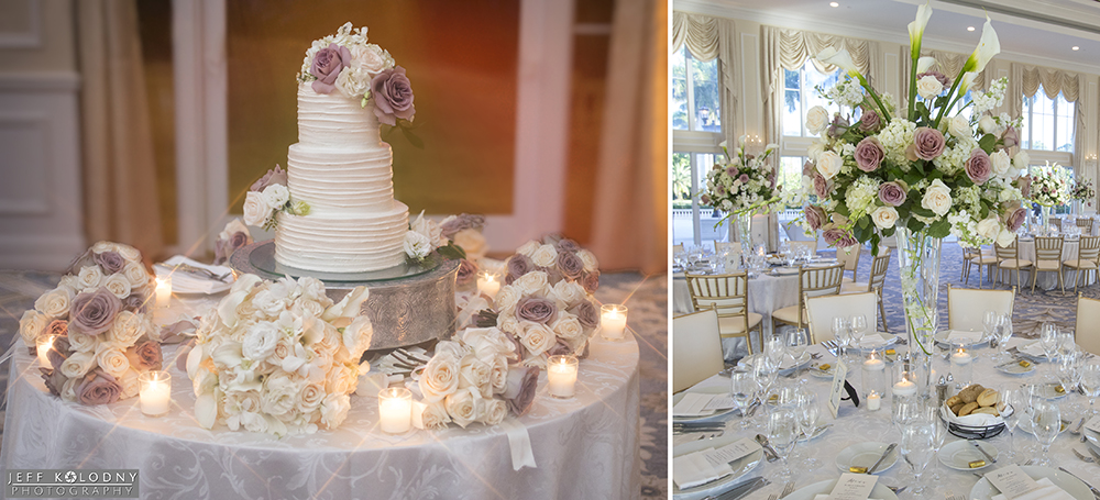 This picture shows how beautiful this South Florida venue looks for a wedding